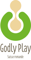 logo godlyplay vert sable